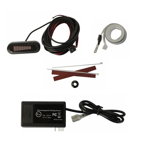 Newest Electromagnetic Car Parking Radar Sensor With Led Display And Buzzer