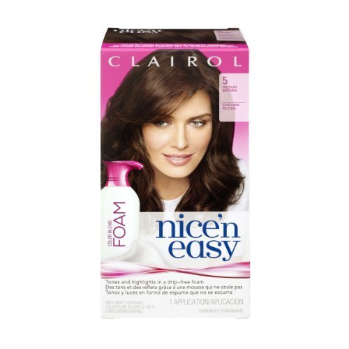 clairol-nice-n-easy-medium-brown-5-color-blend-foam-1-ct-pack-of-3-by-unknown