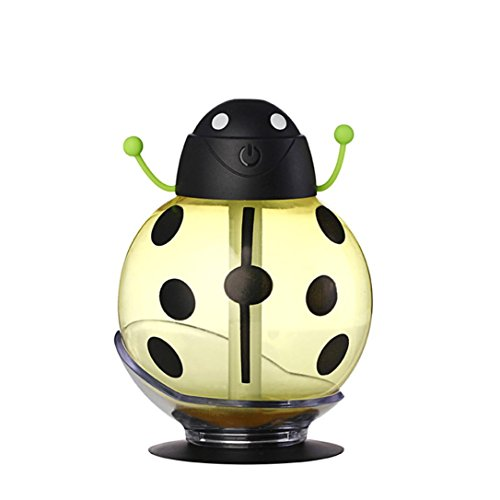 Bigban LED Air Diffuser Purifier Atomizer Beatles Home Aroma Humidifier (Yellow) (Desk Fan Teal compare prices)