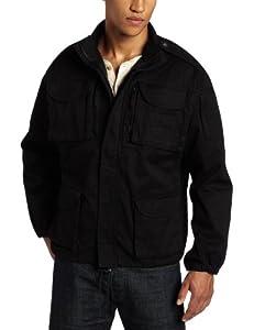 Woolrich Elite Men's Algerian Tactical Jacket (Black, Small)