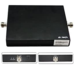 Dr. Tech® Dual-band (800MHZ/1900 MHz) Cell Phone Signal Booster Repeater Amplifier Verizon, AT&T, T-Mobile, Sprint