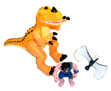 Buy Low Price Mattel Imaginext T-Rex Mountain Dinosaur & Caveman Figure (B001LZQHNW)