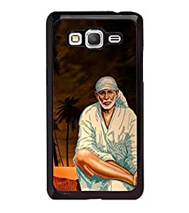 Fuson Premium 2D Back Case Cover Lord Sai baba With White Background Degined For Samsung Galaxy J5::Samsung Galaxy J5 J500F