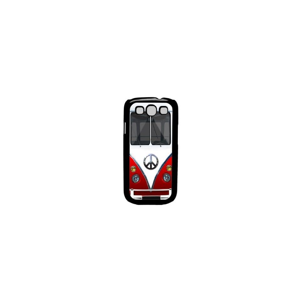 Retro Hippie Peace Mini Van (red)   Samsung Galaxy S3 I9300 Case Rare