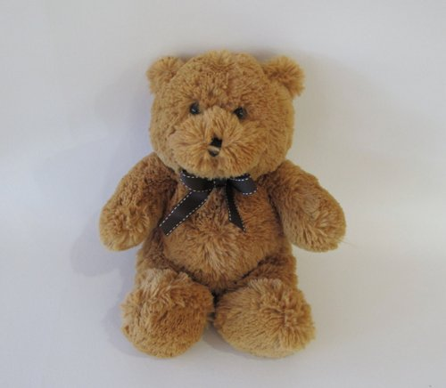 Plush Cuddles Brown Teddy Bear