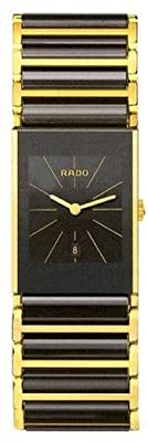 Rado Women's R20788162 Integral Black Dial Ceramic Bracelet Watch by Rado