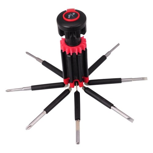 Siam Circus 8 In 1 Multi-Screwdriver With 6 Powerful Led Torch