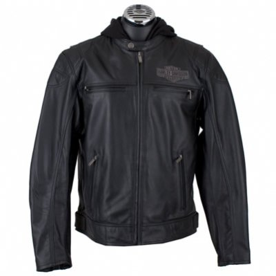 Genuine H-D Leather Jacket - Harley Davidson Men's
