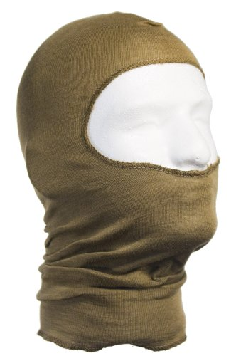 Hwi Gear Light Weight Nomex Hood, Coyote Tan back-234175