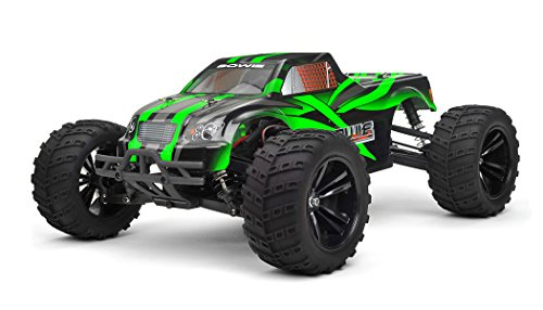 Iron Track Rc Bowie 1:10 Scale 4Wd Electric Truck Ready To Run (Green)