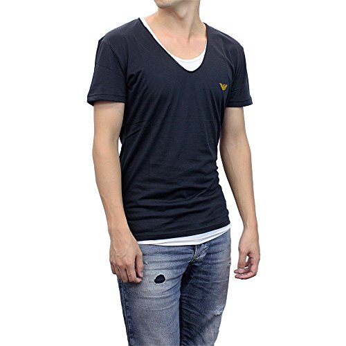 (エンポリオアルマーニ)EMPORIO ARMANI Vネック Tシャツ 211651-5P451 [並行輸入品]