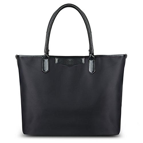 vbiger-borse-tote-e-spalla-in-nylon-grande-capacita-2-in-1-per-donna-nero