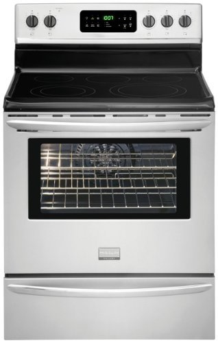 """Frigidaire Gallery 30"""" Self-Cleaning Freestanding Electric Convection Range Stainless Steel FGEF3032MF"""