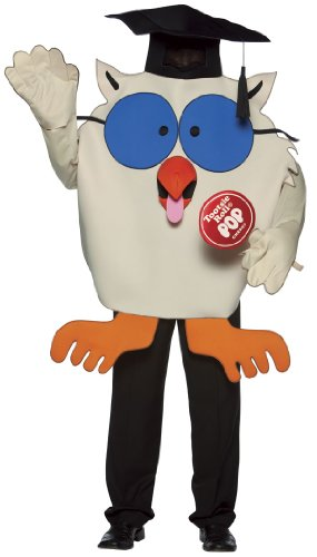 Adult Tootsie Roll Owl Costume - Adult Std.