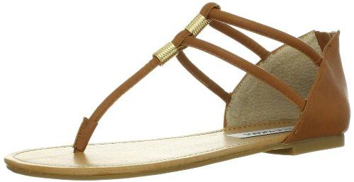 Steve Madden Women'S Rantt Thong Sandal,Cognac,5.5 M Us front-877360
