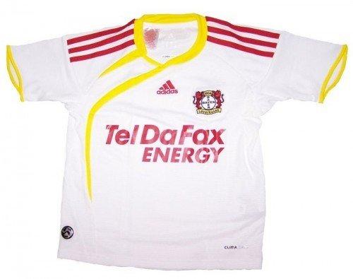 adidas Fantrikot BAYER 04 Away Jersey (white/sun/l