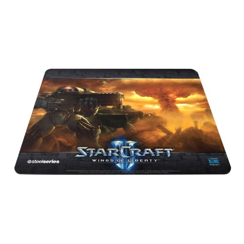 SteelSeries QcK Starcraft II Gaming Mouse Pad-Marine Edition