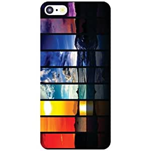 Apple iPhone 5C Back Cover - Colored Paints Designer Cases
