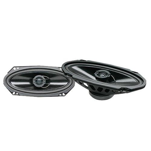 Powerbass S-412 4 X10-Inch Coaxial 2-Way Speaker Set (Pair)