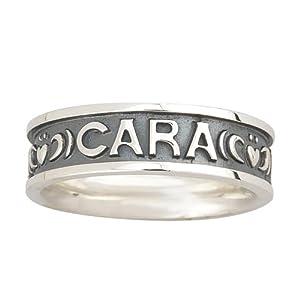 Mo Anam Cara Ring My Soulmate Ladies Silver Sz 5