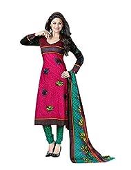 AASRI Women Pure Cotton Unstitched Salwar Suit - B013LT3CEC