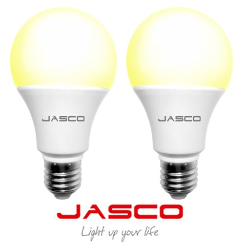 Jasco 5W E27 LED Bulb (Warm White, Pack Of 2)