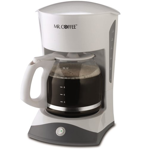 Best Coffee Maker Inexpensive : Mr. Coffee SK12 12-Cup Switch Coffeemaker, White cheap Coffee Maker on sale