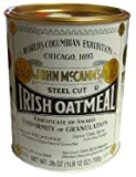 McCann Steel Cut Irish Oatmeal 28oz