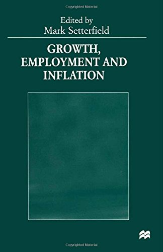 Growth, Employment and Inflation: Essays in Honour of John Cornwall