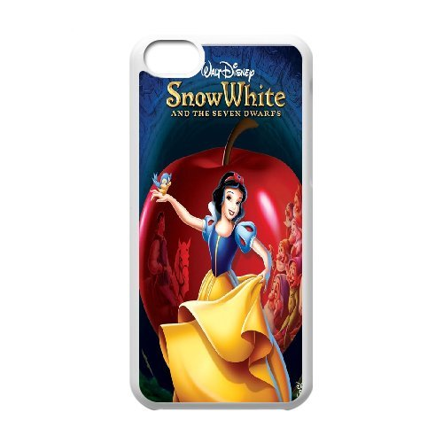 [AinsleyRomo Phone Case] For Iphone 5c -Snow White Holding Apple-Style 16