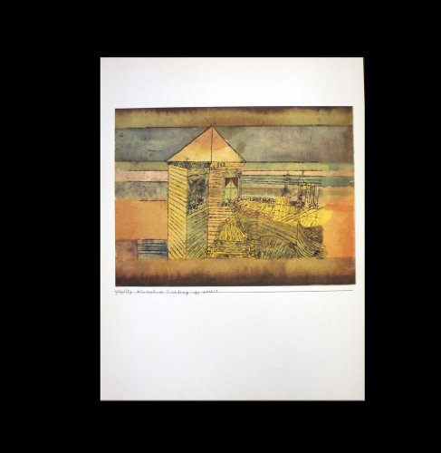 Paul Klee (1879-1940) Pochoir Limited Edition, Wunderbare Landung | Signed | Rice Paper | Gallery Prepared Authentication | ART·docs™ Registered Documentation¹ + ART·sure™ Lifetime Guarantee³