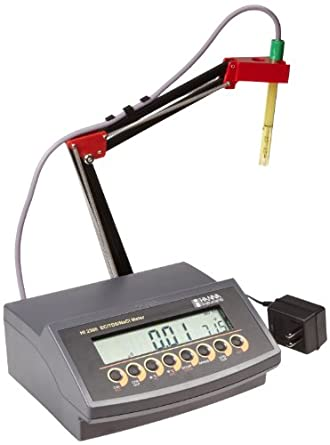 Hanna Instruments HI 2300N EC/TDS/NaCl/Temperature Bench Meter
