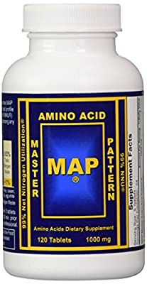 MAP - Master Amino Acid Pattern 120 Tablets