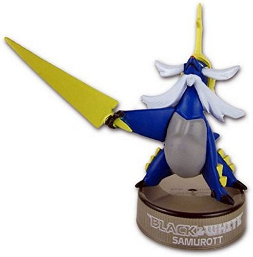 Pokemon-Black-White-Trading-Card-Figure-approximately-2-inches-tall-PVC-Samurott