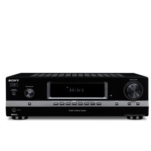 Sony STR-DH 100 Stereoreceiver (UKW-/MW-Tuner, 5x Audio-Eingänge, 2x Audio-Ausgänge, Digital Media Port) schwarz