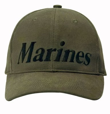 9276 O.D. MARINES Low Profile Baseball Cap