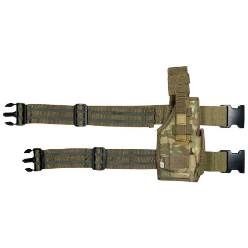 Tactical Patrol US Assault Drop Leg Pistol Holster Airsoft Genuine MultiCam Camo