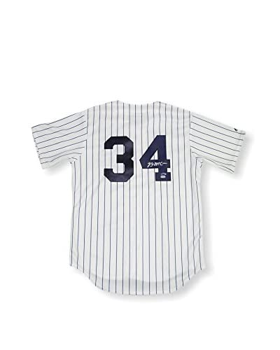 Steiner Sports Brian McCann MLB Auth Signed New York Yankees Replica Pinstripe Jersey