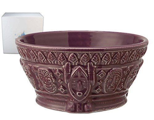 Disney Parks Enchanted Tiki Room Purple Ceramic Bowl - Limited Availability