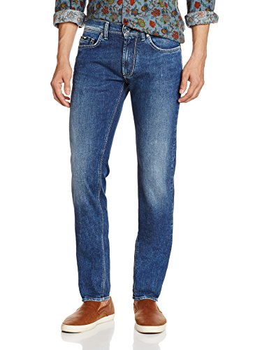 Gas Anders K WK79, Jeans Da Uomo, Blu, 34