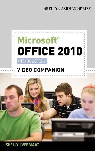 Video DVD for Shelly/Vermaat's Microsoft Office 2010:...