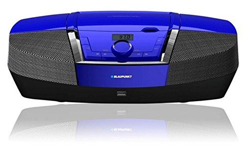 Blaupunkt BB12BL Radio Portatile Boombox con Lettore CD MP3 USB