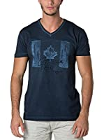 CANADIAN PEAK Camiseta Manga Corta Janada (Azul Marino)
