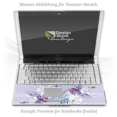 Design Skins für HP EliteBook 2530p Tastatur (Inlay) - Geisha Design Folie