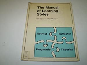 the manual of learning styles honey and mumford Learning styles (honey & mumford) this section deals with honey & mumford's learning styles model click here to find out more about the.