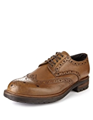 Autograph Leather Heavy Sole Brogue Shoes