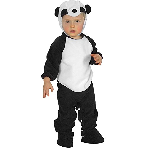 Romper Panda Bear Baby Costume (Size: 6 Months)