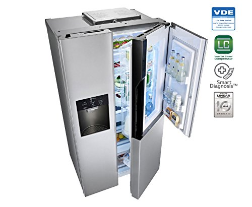 LG GC-J237JSNV 659 Litres Side by Side Door Refrigerator