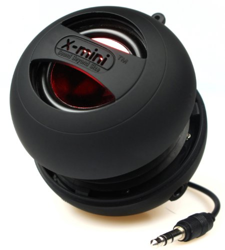 X-Mi X Mini II 2nd Generation Capsule iPhone / iPad / iPod / MP3 / Laptop Speaker - Black