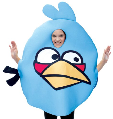 Paper Magic Group Inc Men's Angry Birds Blue Angry Bird Costume